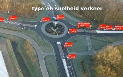 Veel data uit verkeersonderzoek vanuit de lucht